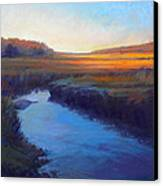 Daylight's End Canvas Print by Ed Chesnovitch