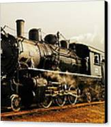 Days Of Steam And Steel Canvas Print by Jeff Swan