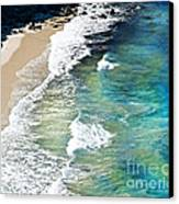 Days That Last Forever Waves That Go On In Time Canvas Print by Artist and Photographer Laura Wrede