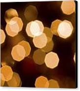 Dazzling Lights Canvas Print by Rich Franco