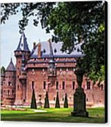 De Haar Castle 3. Utrecht. Netherlands Canvas Print by Jenny Rainbow