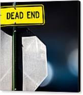 Dead End Canvas Print by Bob Orsillo