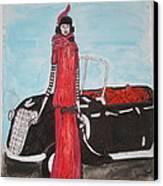 Deco Mama W/convertible Canvas Print by Mary Kay De Jesus