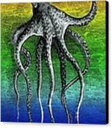 Deep Monster Canvas Print by Eric Edelman