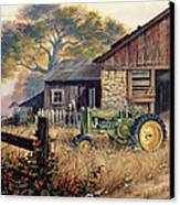 Deere Country Canvas Print