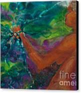 Defining Her Essence Canvas Print by Ilisa Millermoon