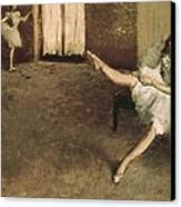 Degas, Edgar 1834-1917. Before Canvas Print by Everett