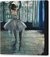 Degas, Edgar 1834-1917. Dancer Canvas Print by Everett