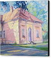 Degenfeld Castle Canvas Print by Andrei Attila Mezei