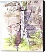 Del Sano Falls Canvas Print by David  Hawkins
