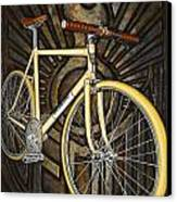 Demon Path Racer Bicycle Canvas Print by Mark Jones