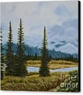 Denali Morning Canvas Print
