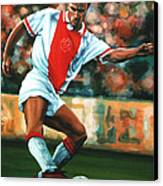 Dennis Bergkamp 2 Canvas Print by Paul Meijering