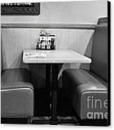 Denny's Booth Canvas Print by Andres LaBrada