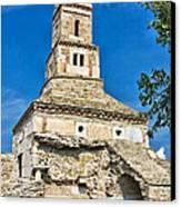 Densus Church Canvas Print by Gabriela Insuratelu