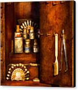 Dentist - The Dental Cabinet Canvas Print by Mike Savad