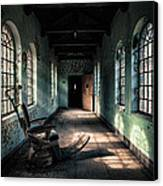 Dentists Chair In The Corridor Canvas Print