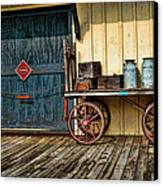 Depot Wagon Canvas Print by Kenny Francis