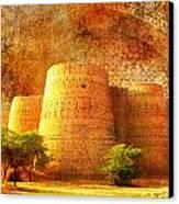 Derawar Fort Canvas Print by Catf