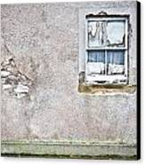 Derelict Window Canvas Print