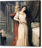Desdemona Canvas Print by Theodore Chasseriau