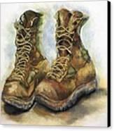 Desert Boots Canvas Print