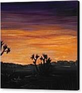 Desert Night Canvas Print by Anastasiya Malakhova