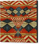 Design 1 -native Inspired Canvas Print by Jeff Burgess