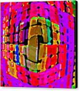 Designer Phone Case Art Colorful Rich Bold Abstracts Cell Phone Covers Carole Spandau Cbs Art 138 Canvas Print by Carole Spandau
