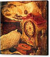 Antique Details Canvas Print by Maria Angelica Maira