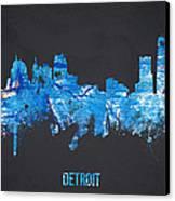 Detroit Michigan Usa Canvas Print