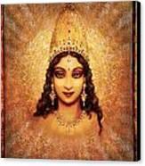 Devi Darshan Canvas Print by Ananda Vdovic