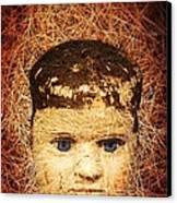 Devil Child Canvas Print by Edward Fielding