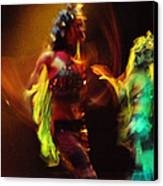 Diabolic. Passionate Dance Of The Night Angels Canvas Print by Jenny Rainbow