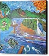 Diamondback Terrapin Maryland Bay Preserve Canvas Print