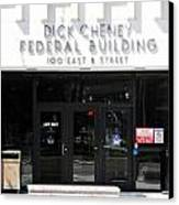 Dick Cheney Federal Bldg. Canvas Print by Oscar Williams