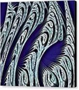 Digital Carvings Canvas Print