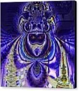 Digital Loop Entity Canvas Print