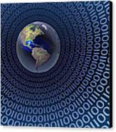 Digital World Canvas Print by Carol and Mike Werner