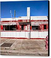 Diner Canvas Print by Peter Tellone