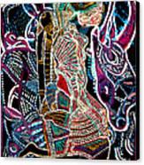 Dinka Bride Canvas Print by Gloria Ssali