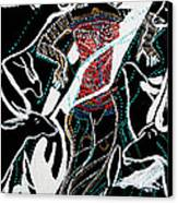 Dinka Dance Canvas Print by Gloria Ssali