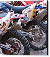 Dirt Bikes Canvas Print by Rick Piper Photography