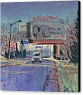 Discount Tire Canvas Print