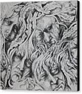 Distress Canvas Print by Moshfegh Rakhsha