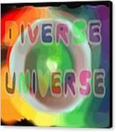 Diverse Universe Canvas Print