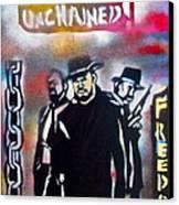 Django Freedom Canvas Print by Tony B Conscious