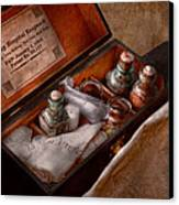 Doctor - Hospital Knapsack  Canvas Print by Mike Savad