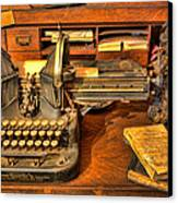 Doctor - The Physician's Desk II Canvas Print by Lee Dos Santos