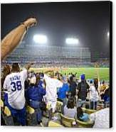 Dodger Stadium 3 Canvas Print